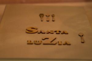 Detalle libro de firmas Santa Luzía