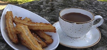 Domingos de chocolate con churros