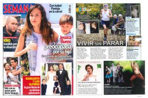 Santa Luzía en la revista Semana